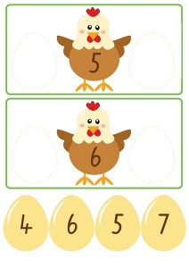 chicken count activities for kıds (4)