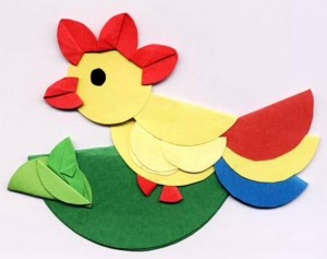 circle paper craft for kıds (3)