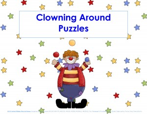 clowning around puzzles for kıds (1)