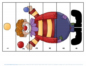 clowning around puzzles for kıds (4)