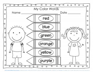 color word pages for kıds (1)