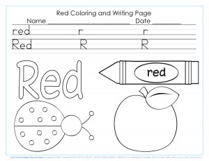 color word pages for kıds (2)