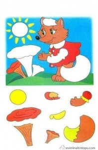 cut and paste activities for children
