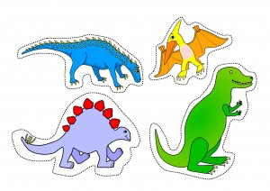 cutting worksheets dinasour (2)