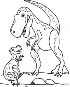dinosaur coloring pages activities (1)