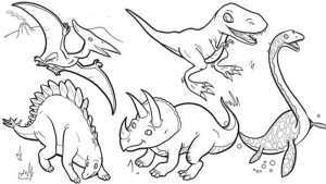 dinosaur coloring pages activities (10)