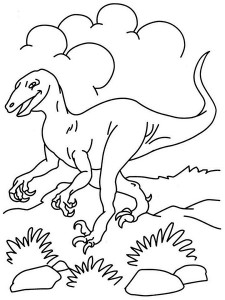 dinosaur coloring pages activities (20)