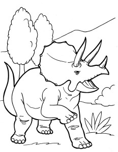 dinosaur coloring pages activities (28)