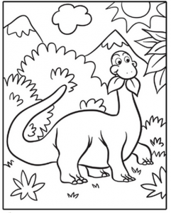 dinosaur coloring pages activities (3)