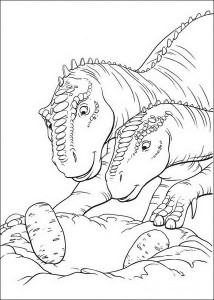 dinosaur coloring pages activities (31)