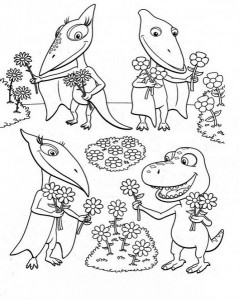 dinosaur coloring pages activities (34)