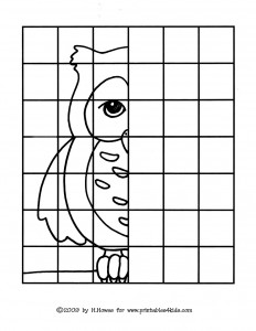 fınısh drawing the owl