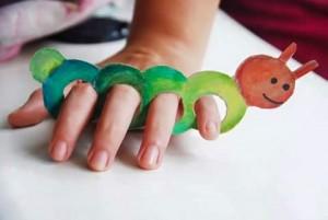 finger puppet worksheets caterpillar
