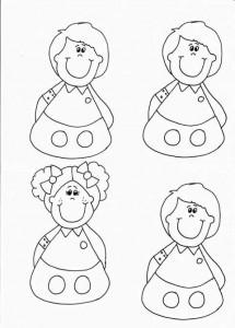 finger puppet worksheets children