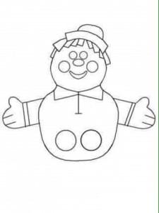 finger puppet worksheets for toddlers