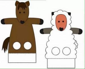 finger puppet worksheets preschool