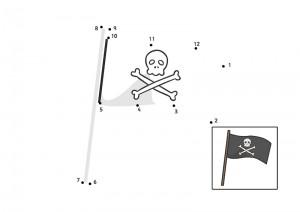 flag dot to dot activities