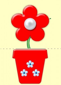flower-pot cutting  and matching printable (9)