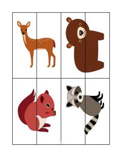 forest animals 2 puzzles