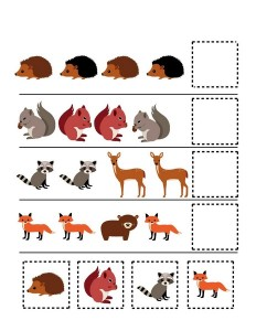 forest animals pattern