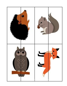 forest animals puzzles