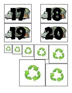 garbage truck worksheets (2)