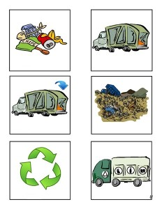 garbage truck worksheets