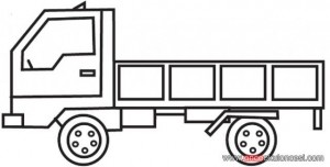 garbage truck worksheets coloring pages (11)