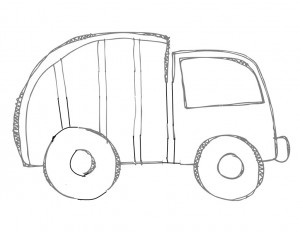 garbage truck worksheets coloring pages (3)