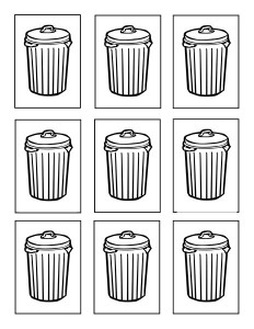 garbage truck worksheets coloring pages (8)