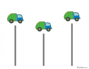 garbage truck worksheets cutting activities