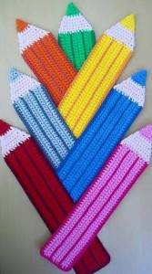 hand knitted bookmark crafts (10)