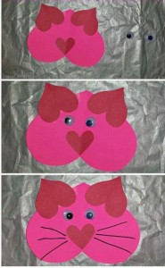 heart shaped animals,craft,actvities for kıds (26)