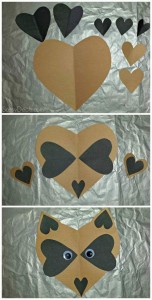 heart shaped animals,craft,actvities for kıds (4)