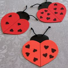 heart shaped animals,craft,actvities for kıds (45)