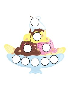 ice cream printables do a dot