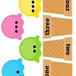 Ice Cream Printables for Kıds