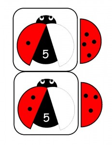ladybugs math activities printables (10)