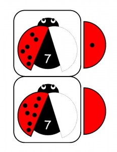 ladybugs math activities printables (11)