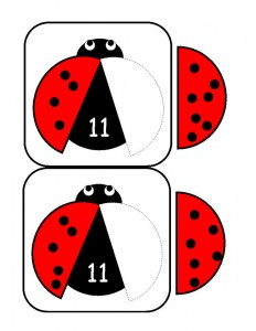 ladybugs math activities printables (2)