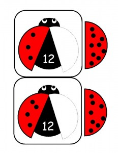 ladybugs math activities printables (28)
