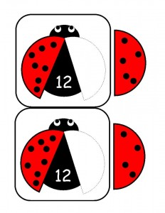 ladybugs math activities printables (29)