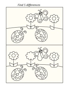 ladybugs worksheets (1)