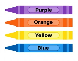 learning color activities color pencil