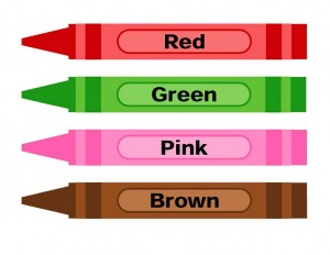 learning color activities pen