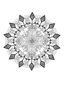 mandala exercise pictures
