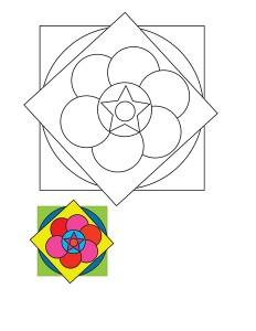 mandala worksheets activitiy