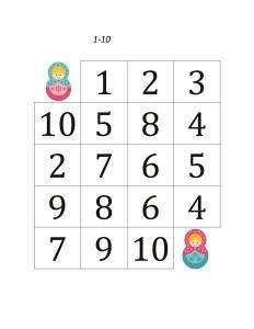matryoshka number maze