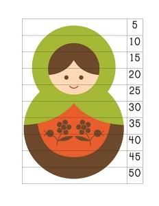 matryoshka number puzzle