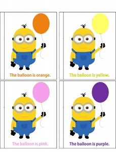 minions color activities